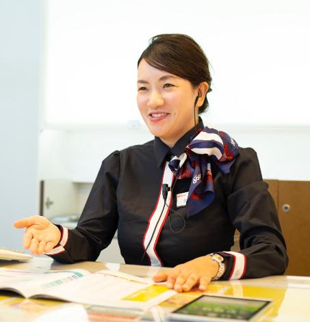 結婚や出産を経ても仕事が続けられる、女性が働きやすい制度が充実。